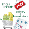 Free delivery and prescriptions